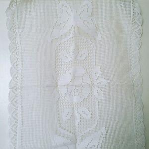 Other - Crochet Tablecloth Runner